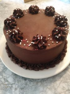 handcrafted cake chocolate